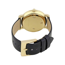 Ladies Roxy White Dial Black Leather Marc Jacobs Watch MJ1532
