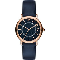 Ladies Mini Navy Blue Leather Marc Jacobs Watch MJ1539