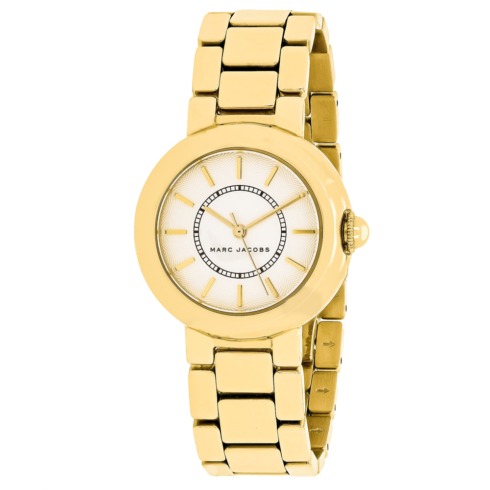 Ladies Gold Courtney Stainless Steel Analogue Marc Jacobs Watch MJ3465