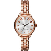 Ladies Betty Rose Gold-Tone Stainless Steel Marc Jacobs Watch MJ3496