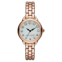 Ladies Betty Rose Gold Mother of Pearl Stainless Steel Marc Jacobs Watch MJ3511