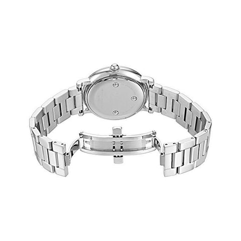Ladies Roxy Silver Dial Stainless Steel Marc Jacobs Watch MJ3521