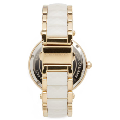 Ladies Parker Gold Tone Stainless Steel Michael Kors Watch MK6400