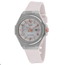 Ladies White G-Shock Rubber Analogue Casio Watch MSGS500-7A