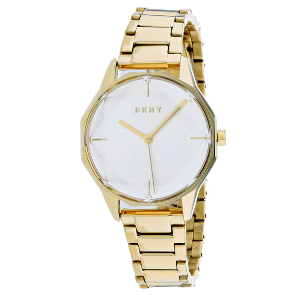 Ladies Gold Cityspire Stainless Steel Analogue DKNY Watch NY2823