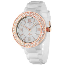 Ladies White Acqua Rubber Analogue Oceanaut Watch OC0221