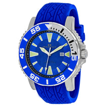 Men's Blue Marletta Rubber Analogue Oceanaut Watch OC2918