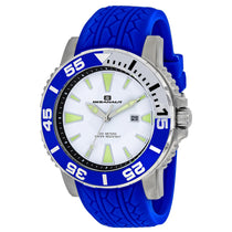 Men's Blue Marletta Rubber Analogue Oceanaut Watch OC2919