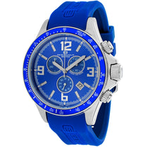 Men's Blue Baltica Rubber Chronograph Oceanaut Watch OC3346