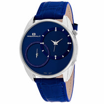 Men's Blue Sentinel Leather Analogue Oceanaut Watch OC3354