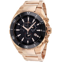 Men's Rose Gold Seville Stainless Steel Chronograph Oceanaut Watch OC5126
