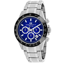 Men's Silver Biarritz Stainless Steel Analogue Oceanaut Watch OC6113