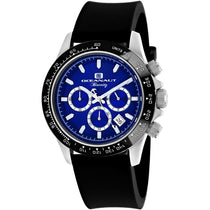 Men's Black Biarritz Rubber Analogue Oceanaut Watch OC6113R