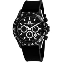 Men's Black Biarritz Rubber Analogue Oceanaut Watch OC6114R