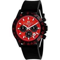 Men's Black Biarritz Rubber Analogue Oceanaut Watch OC6115R