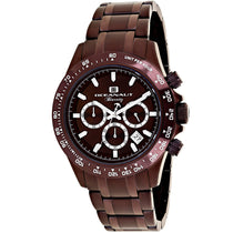 Men's Brown Biarritz Stainless Steel Analogue Oceanaut Watch OC6116
