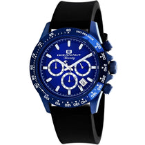 Men's Black Biarritz Rubber Analogue Oceanaut Watch OC6117R