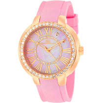 Ladies Pink Allure Rubber Analogue Oceanaut Watch OC6416