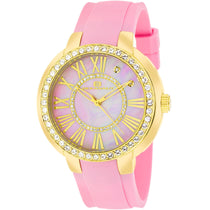 Ladies Pink Allure Rubber Analogue Oceanaut Watch OC6418