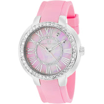 Ladies Pink Allure Rubber Analogue Oceanaut Watch OC6419