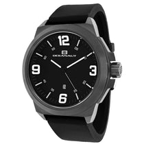Men's Black Amada Rubber Analogue Oceanaut Watch OC7110