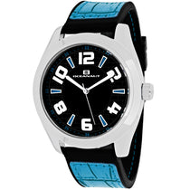 Men's Black Vault Rubber Analogue Oceanaut Watch OC7510