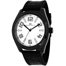 Men's Black Vault Rubber Analogue Oceanaut Watch OC7512