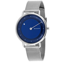 Ladies Silver Horisont Special-Edition Stainless Steel Mesh Analogue Skagen Watch SKW2738