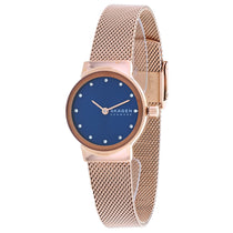 Ladies Rose Gold Freja Special-Edition Stainless Steel Analogue Skagen Watch SKW2740
