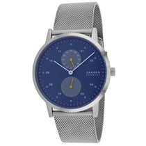 Men's Silver Kristoffer Stainless Steel Analogue Skagen Watch SKW6525