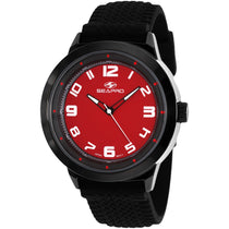 Men's Red Wave Rubber Analogue Seapro Watch SP3112