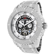 Men's White Tidal PX1 Stainless Steel Chronograph Seapro Watch SP3310