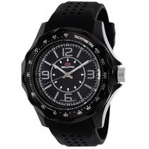 Men's Black Dynamic Rubber Analogue Seapro Watch SP4110