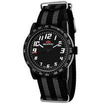 Ladies Black Bold Nylon Analogue Seapro Watch SP5214NBK