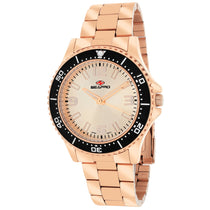 Ladies Rose Gold Tideway Stainless Steel Analogue Seapro Watch SP5414