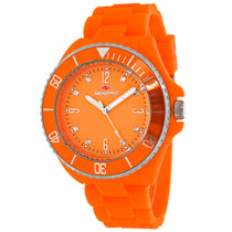 Ladies Orange Sea Bubble Rubber Analogue Seapro Watch SP7415
