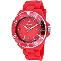 Ladies Pink Sea Bubble Rubber Analogue Seapro Watch SP7416