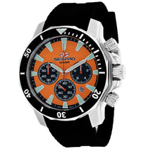 Men's Black Scuba Dragon Diver Limited Edition 1000 Meters Rubber Analogue Seapro Watch SP8343R