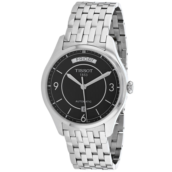 Men's Black T-One Stainless Steel Analogue Tissot Watch T0384301105700