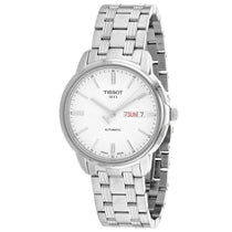 Men's White T-Classic Stainless Steel Analogue Tissot Watch T0654301103100