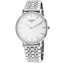 Men's Silver Everytime Stainless Steel Analogue Tissot Watch T1096101103100