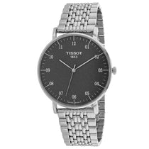 Men's Silver Everytime Stainless Steel Analogue Tissot Watch T1096101107700