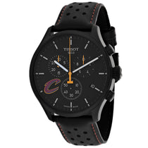 Men's Black Chrono XL Leather Chronograph Tissot Watch T1166173605101