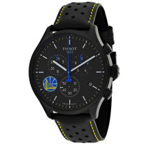 Men's Black Chrono XL Leather Chronograph Tissot Watch T1166173605102