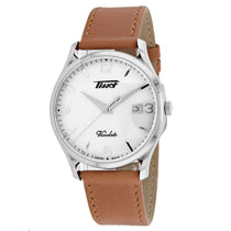 Men's Brown Heritage Visotage Leather Chronograph Tissot Watch T1184101627700