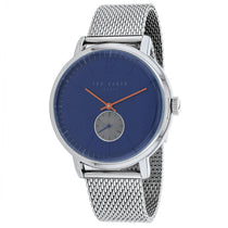 Men's Silver Oliver Stainless Steel Analogue Ted Baker Watch TE15063006