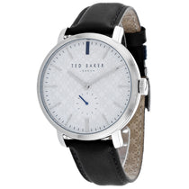 Men's Grey Trent Leather Analogue Ted Baker Watch TE15193007