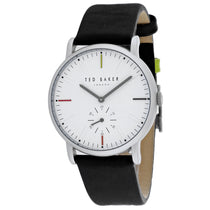 Men's Black Nolan Leather Analogue Ted Baker Watch TE50072001