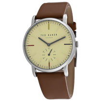 Men's Brown Nolan Leather Analogue Ted Baker Watch TE50072002