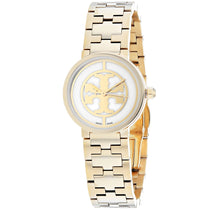 Ladies Black Reva Stainless Steel Analogue Tory Burch Watch TRB4011